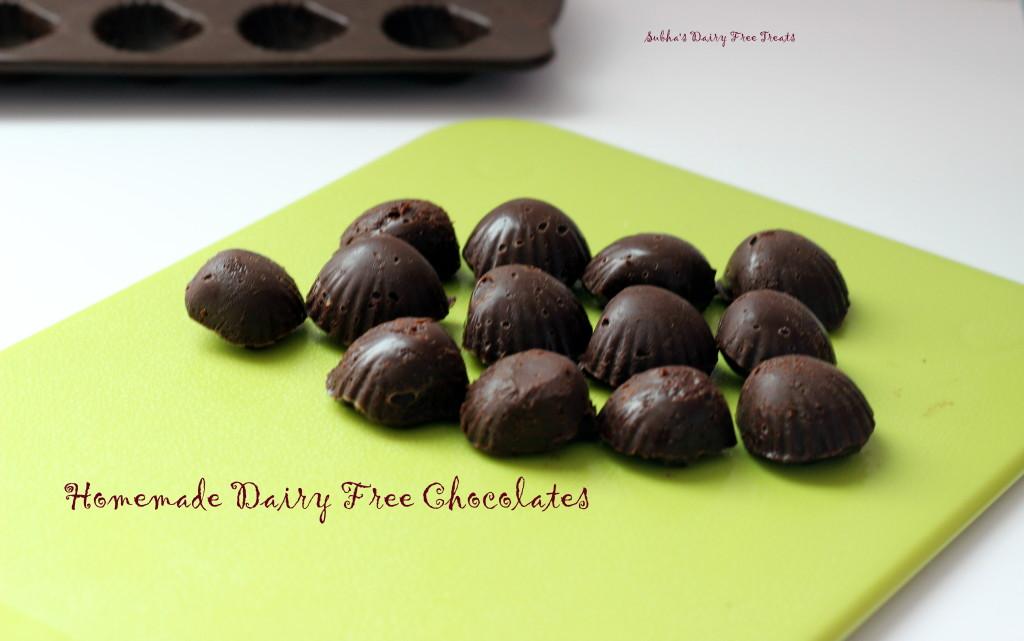 Dairy Free Chocolates 1