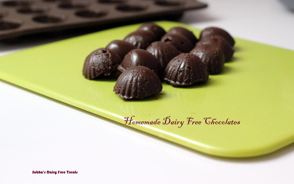 Dairy Free Chocolates 2