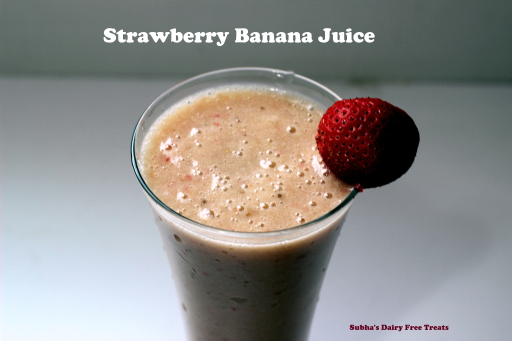Strawberry Banana Juice 2