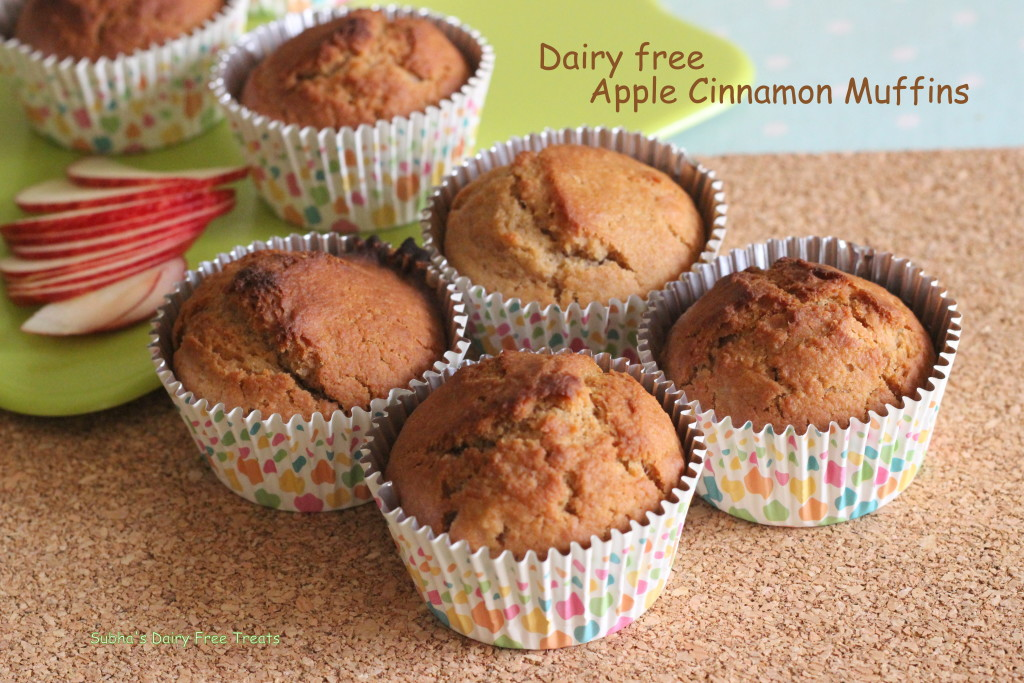 Apple Cinnamon Muffins 1